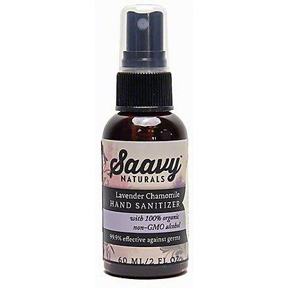 Saavy Hand Sanitizer Lavender Chamomile, 2 fl oz