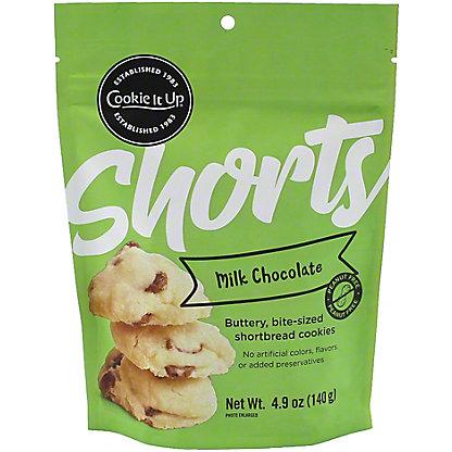 Cookie It Up Shorts Milk Chocolate, 4.9 oz