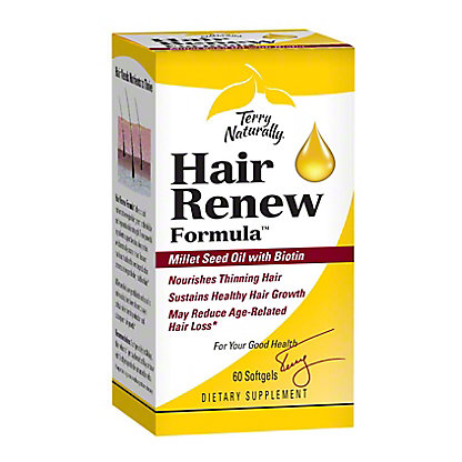Terry Naturally Hair Renew Formula, 60 ct