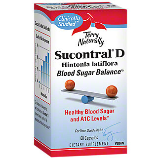 Terry Naturally Sucontral D, 60 ct
