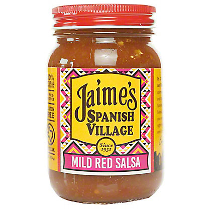 Jaime's Spanish Village Salsa Red Mild, 16 oz