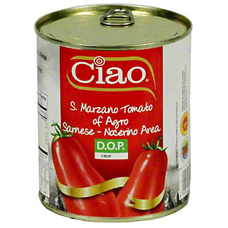 Ciao San Marzano Plum Tomato, 28 oz