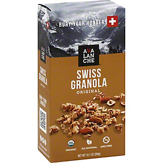Avalanche Swiss Granola Original, 10.1 oz