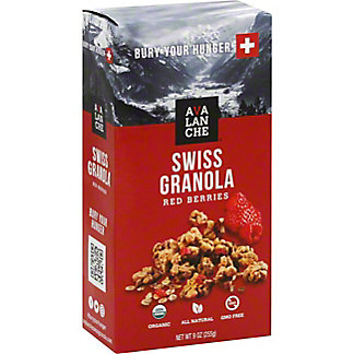Avalanche Swiss Granola with Red Berries, 9 oz