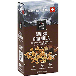 Avalanche Swiss Granola Coconut Quinoa And Chocolate, 10.1 oz