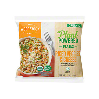 Woodstock Farms Riced Veggies & Cheese With Cauliflower, 12 oz