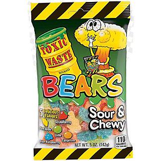 Toxic Waste Gummy Bears, 5 oz