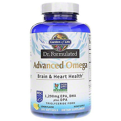 Garden of Life Advanced Omega, 180 ct