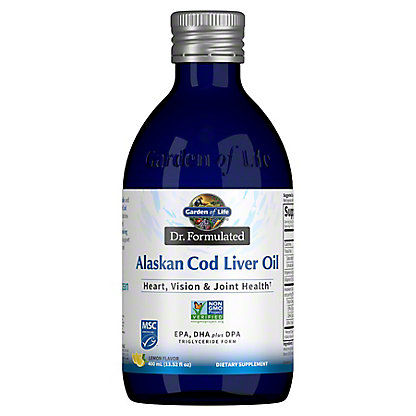 Garden of Life Alaskan Cod Liver Oil, 400 ml