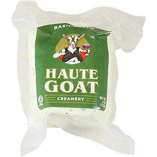 Haute Goat Creamery Basil Pesto Chevre, 4 oz
