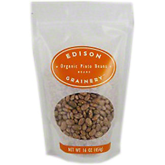 Edison Grainer Organic Pinto Beans, 16 oz