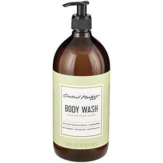 Central Market Body Wash Jasmin Pear Scent, 33.8 oz