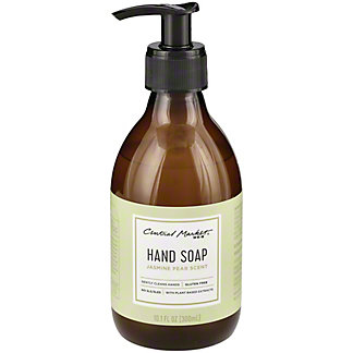 Central Market Hand Soap Jasmin Pear Scent, 10.1 oz