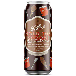 The Bruery Hold The Spoon Stout Black Chocolate Cake, 16 fl oz