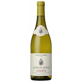 Famille Perrin Réserve Côtes du Rhône Blanc, 750 ml