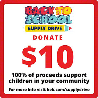 H-E-B $10 COVID-19 Relief Efforts, EACH