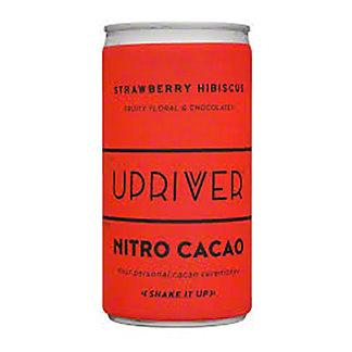 Upriver Cacao Nitro Strawberry Hibiscus, 6 fl oz