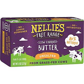 Nellie's Free Range Unsalted Butter, 8 oz
