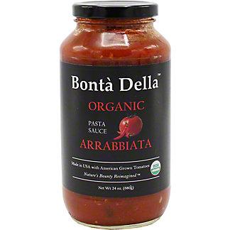Bonta Della Organic Arrabbiata Pasta Sauce, 25 oz