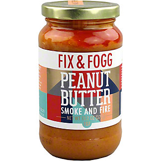 Fix & Fogg Smoke & Fire Peanut Butter, 13.2 oz