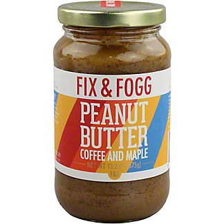 Fix & Fogg Coffee & Maple Peanut Butter, 13.2 oz