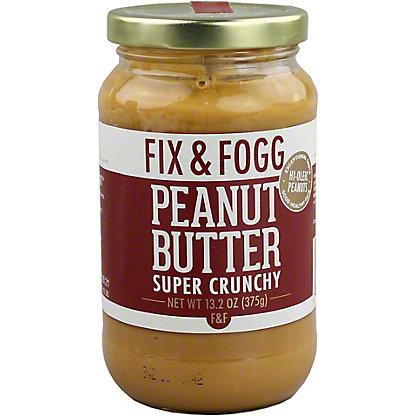 Fix & Fogg Super Crunchy Peanut Butter, 13.2 oz