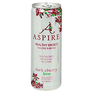 Aspire Dark Cherry Lime, 12 oz