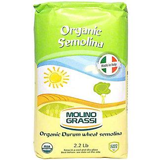 Molino Grassi Organic Semolina, 2.2 lb