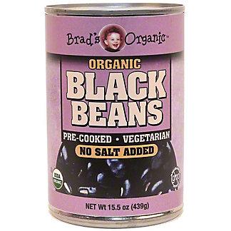 Brad's Organic No Salt Black Beans, 15.5 oz