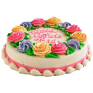 Central Market Happy Mother's Day White Cake, 8 Inch