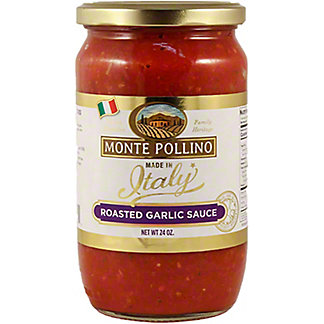 Monte Pollino Roasted Garlic Pasta Sauce, 24 oz