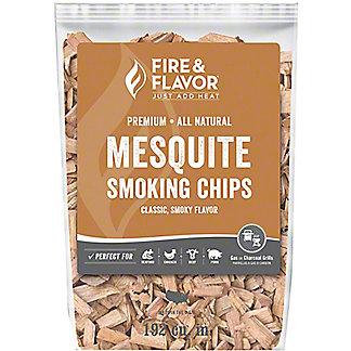 Fire & Flavor Mesquite Wood Chips, 2 Lb