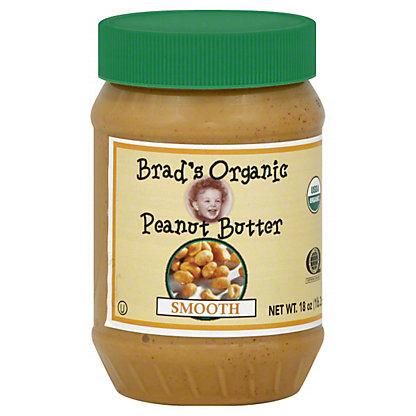 Brad's Organic Smooth Peanut Butter, 18 oz