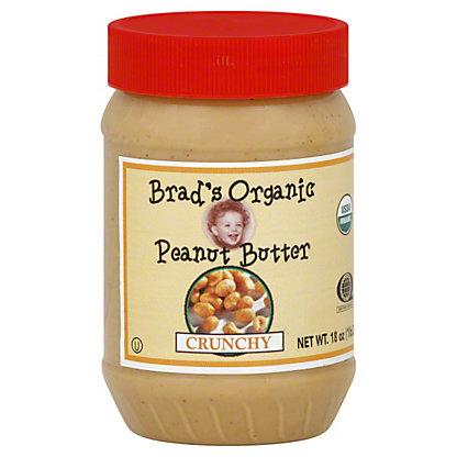 Brad's Organic Crunchy Peanut Butter, 18 oz