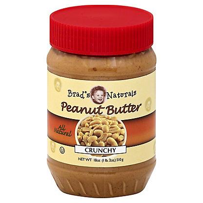 Brad's Naturals Peanut Butter Crunchy, 18 oz