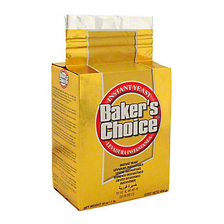Baker's Choice Instant Yeast Gold, 16 oz