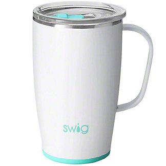 Swig Mug Diamond White, 18 oz
