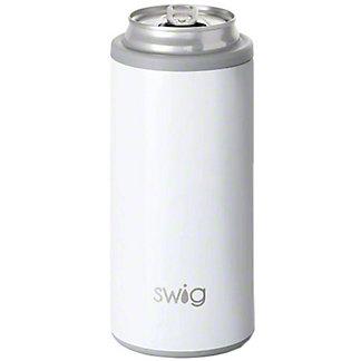 Swig Skinny Can Diamond White, 12 oz