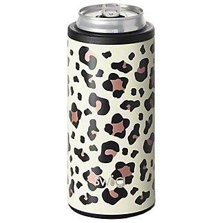 Swig Skinny Can Luxy Leopard, 12 oz