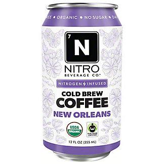 Nitro Beverage Co. New Orleans Coffee Cold Brew, 12 fl oz