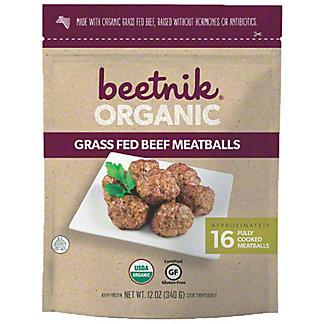 Beetnik OrganicGrassfedBeef Meatballs, 12 oz