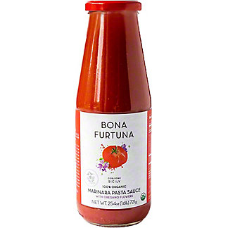 Bona Furtuna Organic Oregano Marinara Pasta Sauce, 25.4 oz
