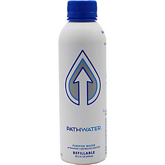 Pathwater Purified Water In Refillable Bottle, 20.3 fl oz