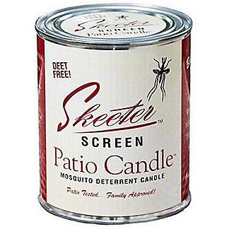 Skeeter Screen Garden Candle, 15 oz