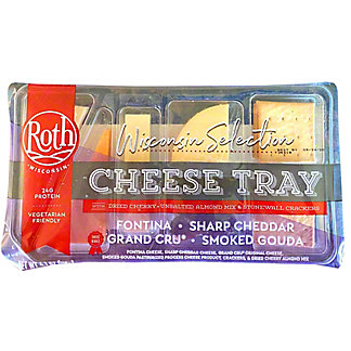 Roth Wisconsin Selection Cheese Tray, 4.1 oz