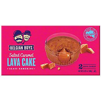 Belgian Boys Salted Caramel Lava Cake, 2 pk