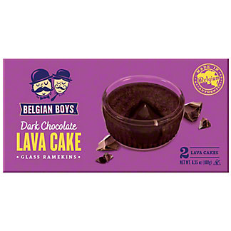Belgian Boys Dark Chocolate Lava Cake, 6.35 oz