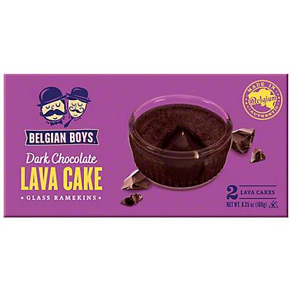 Belgian Boys Dark Chocolate Lava Cake, 6.35 oz