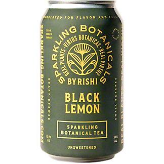 Rishi Sparkling Botanical Black Lemon, 12 fl oz
