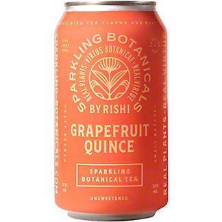 Rishi Sparkling Botanical Grapefruit Quince, 12 fl oz